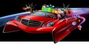 Weihnachtsschlitten von Autodesignern